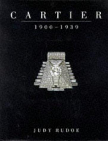 9780714105840: Cartier: 1900-1939: 1900-39