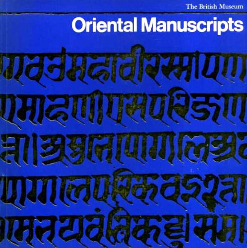 9780714106489: Oriental Manuscripts: Exhibition Catalogue