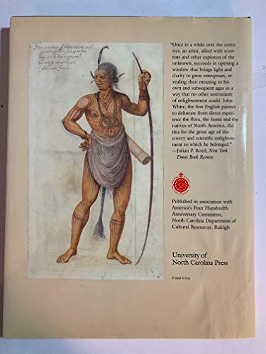 AMERICA 1585. THE COMPLETE DRAWINGS OF JOHN WHITE [HARDBACK] [ANTICUARIO] [MUY BIEN]