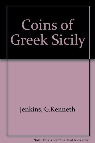 9780714108384: Coins of Greek Sicily