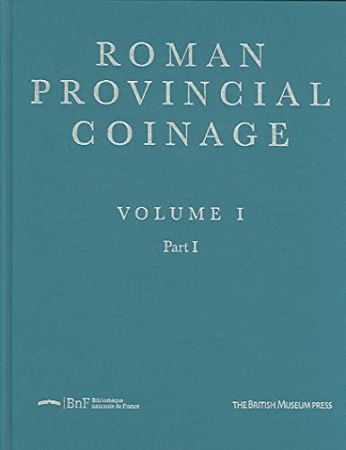 9780714108940: Roman Provincial Coinage Supplement 1