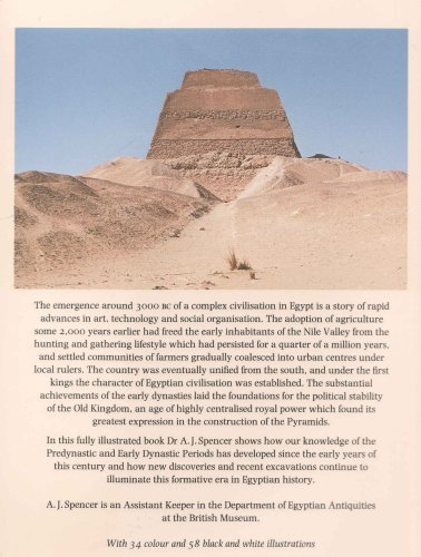9780714109749: Early Egypt: The Rise of Civilisation in the Nile Valley