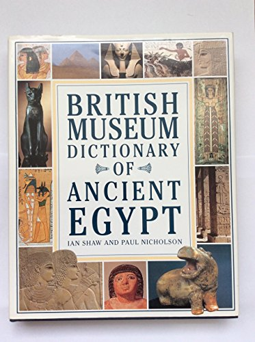 9780714109824: Dictionary Ancient Egypt