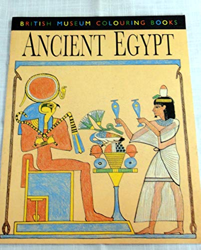 9780714109855: Ancient Egypt (British Museum Colouring Books)