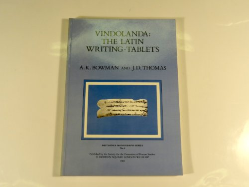 9780714113739: Roman Writing Tablets from Vindolanda