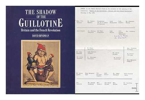 9780714116372: Shadow of the Guillotine: Britain and the French Revolution