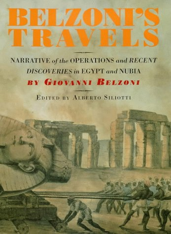 9780714119403: BELZONI'S TRAVELS (HB) [O/P]: Narrative of the Operations and Recent Discoveries in Egypt and Nubia