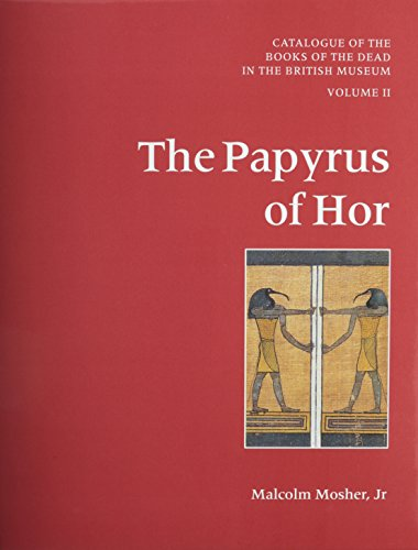 9780714119496: Catalogue of the Books of the Dead in the British Museum, Vol. 2: The Papyrus of Hor