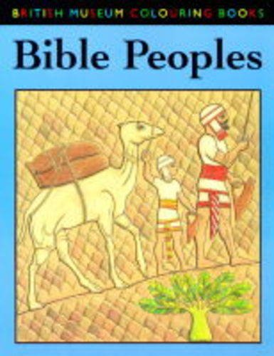 9780714121536: Bible Peoples Colouring Book