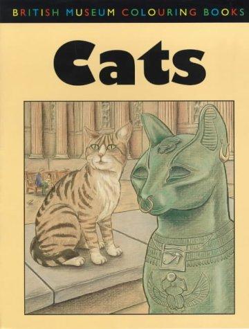 9780714121840: Cats (British Museum Colouring Books)
