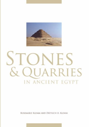 9780714123264: Stones and Quarries in Ancient Egypt