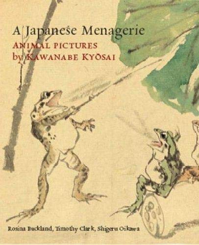 9780714124421: A Japanese Menagerie: Animal Pictures by Kawanabe Kyosai