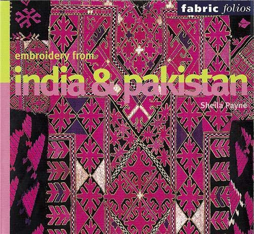 9780714127446: Embroidery from India and Pakistan (Fabric Folios)