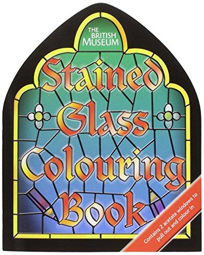 9780714130170: Stained Glass: Shaped (British Museum Colouring Books)