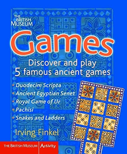 9780714131122: Games: Discover and Play 5 Famous Ancient Games (British Museum Activity Books)
