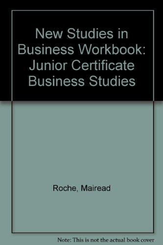 9780714417189: New Studies in Business Workbook: Junior Certificate Business Studies