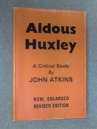 9780714500812: Aldous Huxley