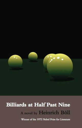 9780714501246: Billiards at Half Past Nine