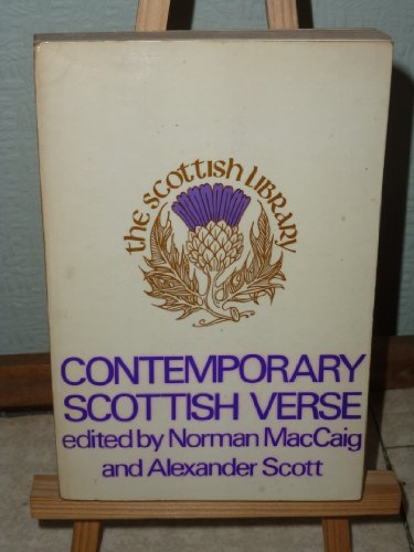Contemporary Scottish Verse, 1959-69: Norman MacCaig, Alexander