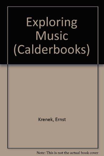 Exploring Music Essays Essays  Abebooks  Ernest   Exploring Music Essays Essays