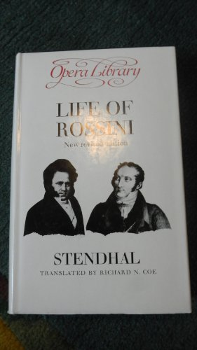 9780714503417: Life of Rossini (Opera library)