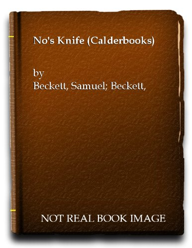 9780714504186: No's Knife (Calderbooks)