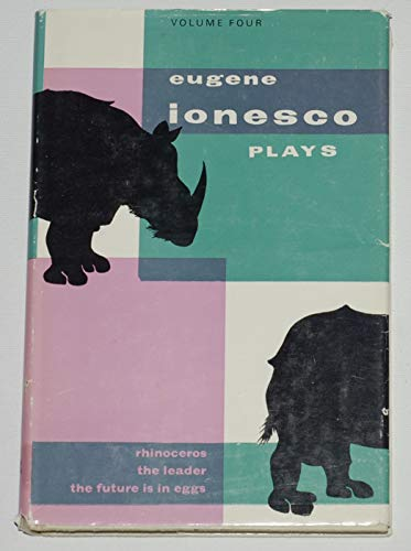 Plays: v. 4 (0714504610) by Ionesco, Eugene