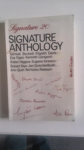 9780714504919: Signature Anthology
