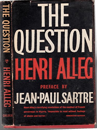 9780714504940: The Question