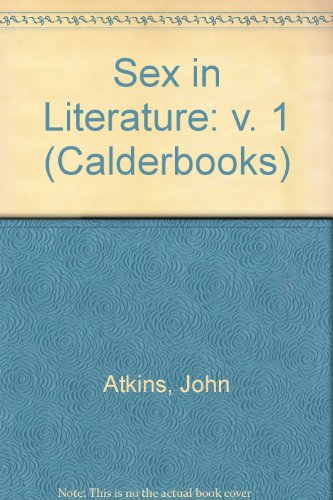 9780714505237: Sex in Literature (Calderbooks)