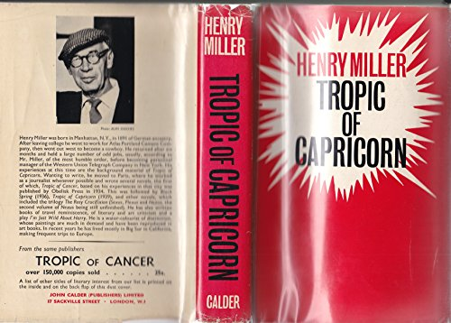 9780714505862: Tropic of Capricorn