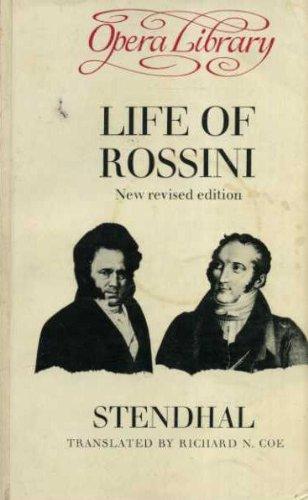 9780714506326: Life of Rossini (Opera Library)