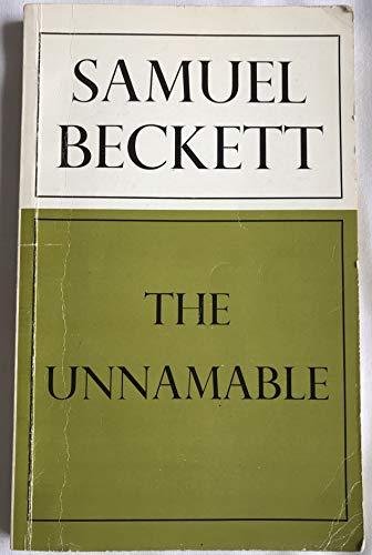The Unnamable: Beckett, Samuel