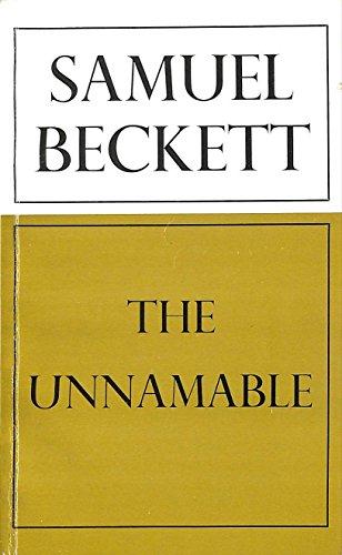 9780714508269: The Unnamable (Calderbooks)