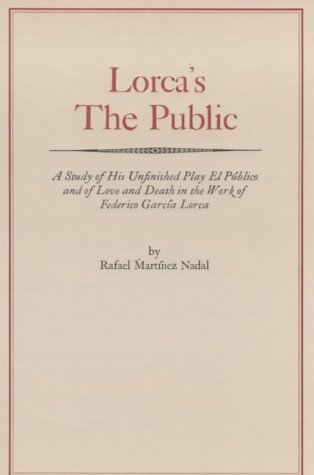 9780714510590: Lorca's the Public