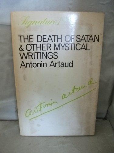Death of Satan (9780714510859) by Artaud, Antonin
