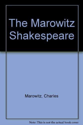 9780714526508: The Marowitz Shakespeare