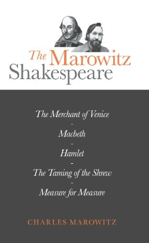 9780714526515: The Marowitz Shakespeare: Adaptations and Collages of Hamlet, Macbeth, the Taming of the Shrew, Measure for Measure and the Merchant of Venice