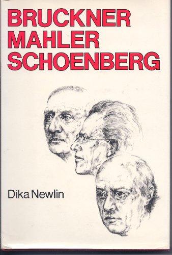 9780714526584: Bruckner, Mahler, Schoenberg