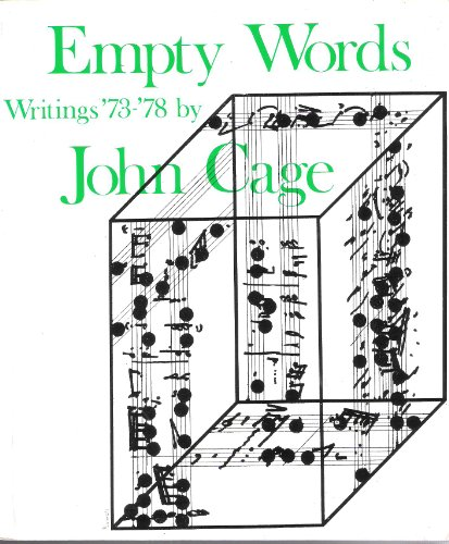 9780714527161: Empty Words: Writings, 1973-78