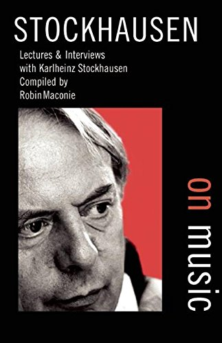 9780714529189: Stockhausen on Music