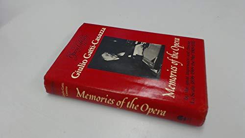9780714535180: Memories of the Opera