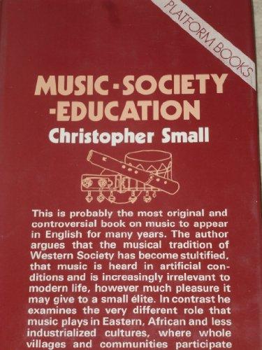 9780714535302: Music, Society, Education (Platform books)