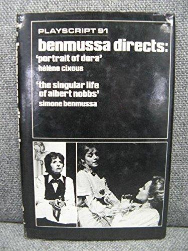 9780714537641: Benmussa Directs: Portrait of Dora : The Singular Life of Albert Nobbs (Playscript 91)