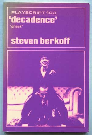 9780714539546: Decadence and Greek (Playscript)