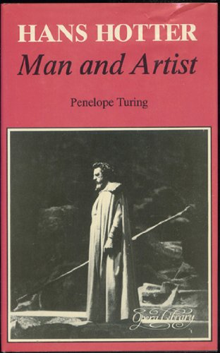 9780714539881: Hans Hotter: Man and Artist (Opera Library)