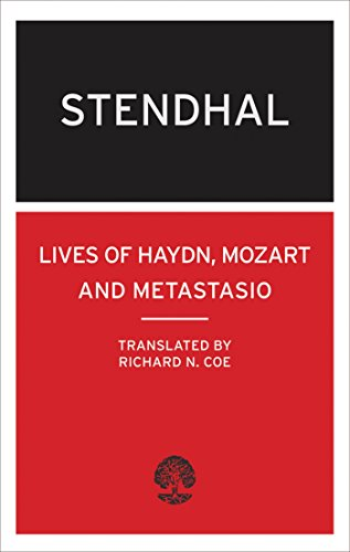 The Lives of Haydn, Mozart and Metastasio: Stendhal), Mari-Henri Beyle