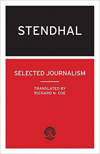 Selected Journalism: (Calder Collection): Stendhal), Mari-Henri Beyle
