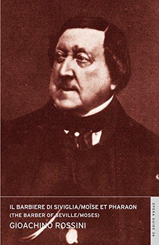 9780714544373: Il Barbiere Di Siviglia / Moise, the Barber of Seville / Moses: English National Opera Guide 36