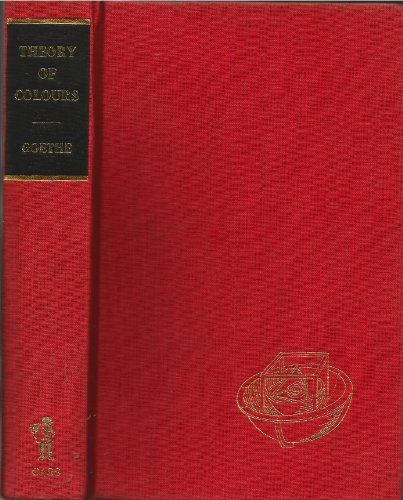 9780714611075: Theory of Colours (Library of Science Classics)